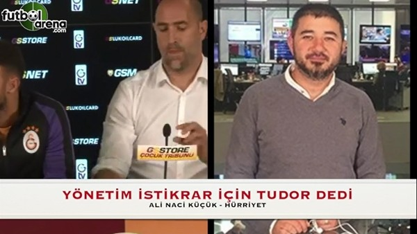Galatasaray yönetimi istikrar için Tudor dedi