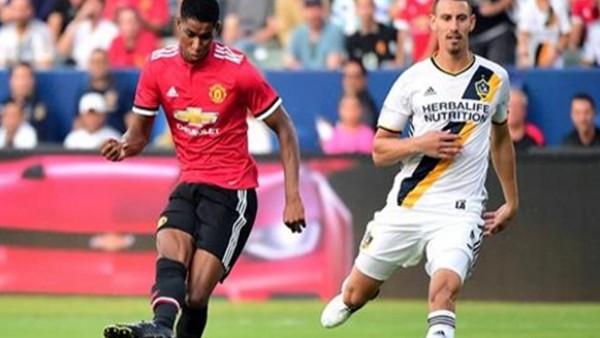 Manchester United, Los Angeles Galaxy'yi darmadağın etti!