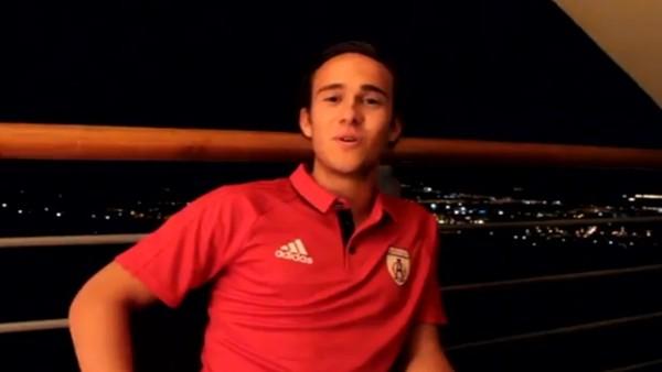 Altınordulu futbolcular Cengiz Ünder'in doğum gününü kutladı