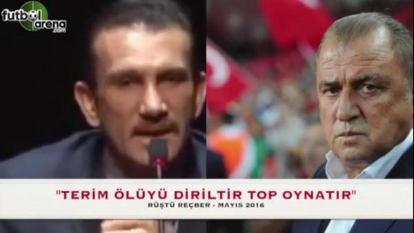 """""""Fatih Terim ölüyü diriltir, top oynatır"""""""