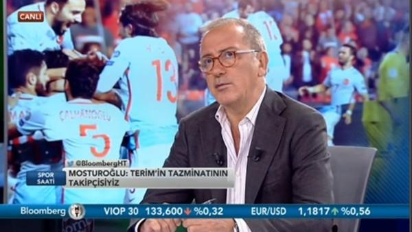 """Fatih Altaylı: """"Fenerbahçe lobisi Fatih Terim'den hoşnut değildi"""""""