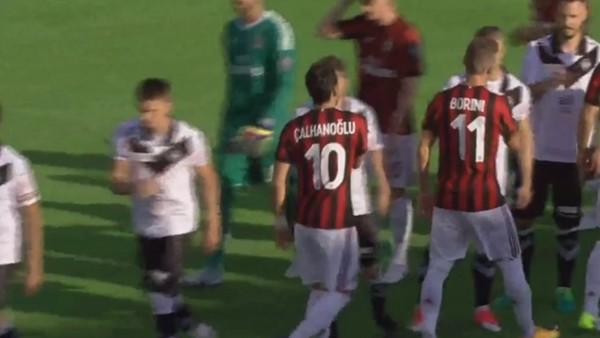 Hakan oynadı, Sosa attı, Milan şov yaptı...