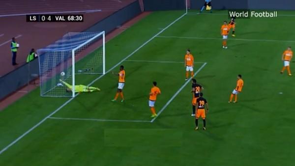 Beşiktaş'ın istediği Negredo'dan muhteşem performans