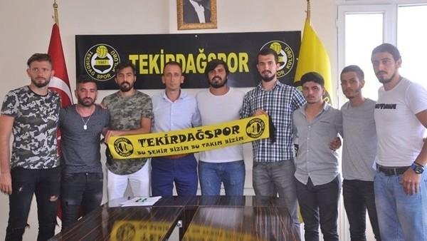 Tekirdağspor, 3 günde 22 futbolcu transfer etti