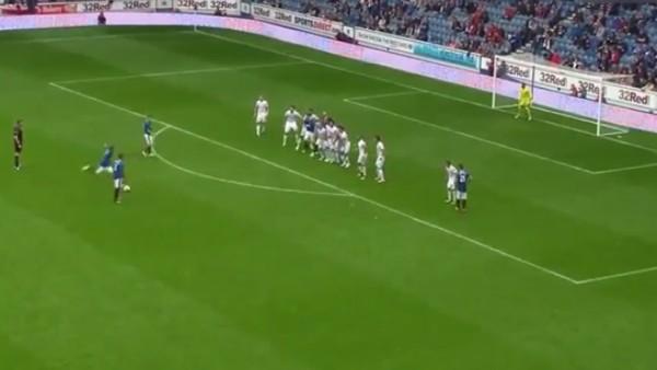 Niko Kranjcar'dan enfes frikik golü