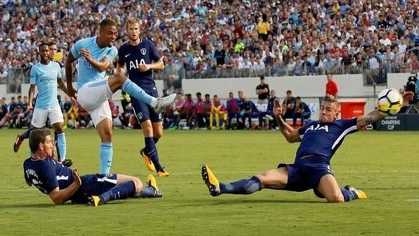 Manchester City 3-0 Tottenham (Maç Özeti ve golleri)