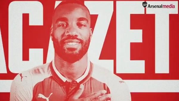 Arsenal, Lacazette'nin transferini Tarkan'ın Cuppa şarkısıyla duyurdu