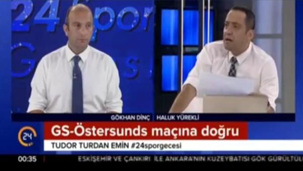 """Gökhan Dinç: """"Galatasaray uzayda da oynasa yenemeyebilir"""""""