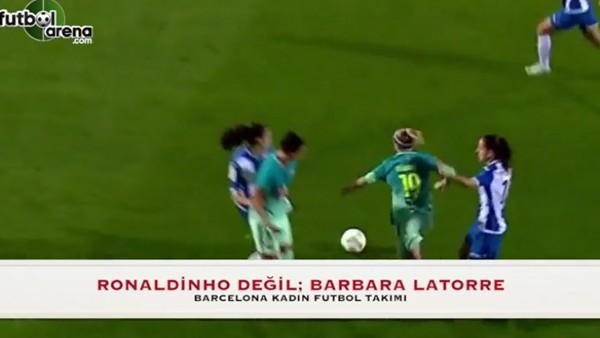Barcelonalı kadın, Messi'ye özendi!