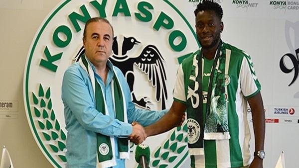 Wilfred Moke, Atiker Konyaspor'da!