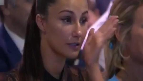 Adriana Pozueco gözyaşlarına boğuldu!