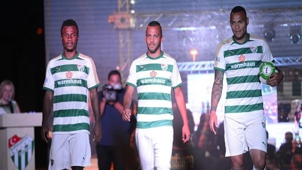 Bursaspor'un yeni formaları