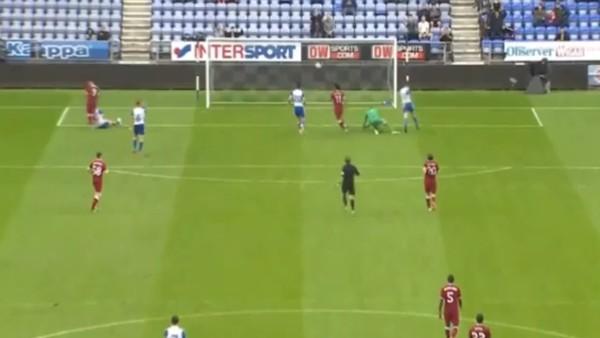 Mohammed Salah ilk golünü attı