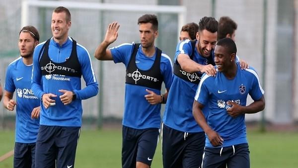 Trabzonspor, Macaristan kampında tempoyu arttırdı