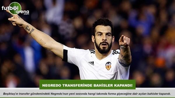 Beşiktaş'ta Negredo transferinde son durum