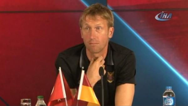 """Graham Potter: """"Galatasaray'ın daha iyi performans göstereceğine eminim"""""""
