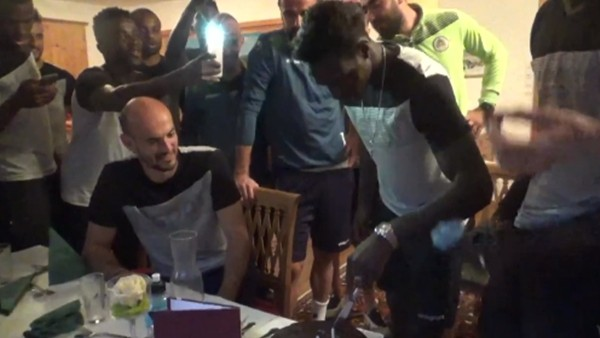 Fabrice N'sakala'nın doğum günü kutlandı