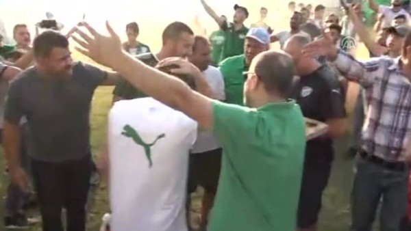 Taraftardan Bursaspor'a destek!
