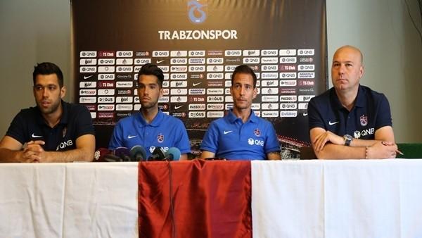 Trabzonspor'da Mas ve Pareria basın toplantısı düzenledi