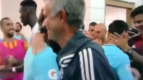 Neymar ile Mourinho'nun buluşması!