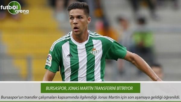 Bursaspor, Jonas Martin transferini bitiriyor