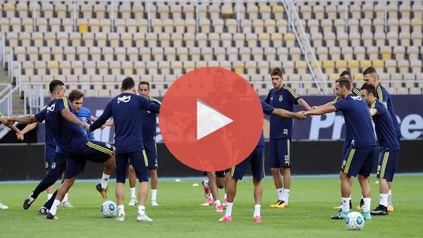 Fenerbahçe'de Vardar maçı hazırlıkları tamam