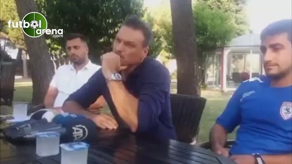 Alpay Özalan ile gazeteciler birbirine girdi