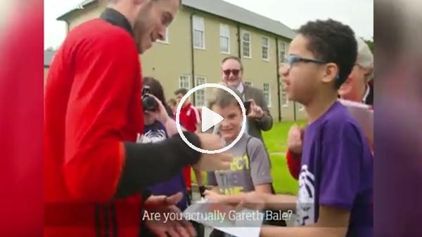 Gareth Bale ile hayranı arasındaki ilginç diyalog!
