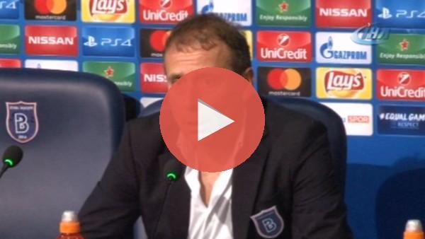 """Abdullah Avcı: """"Sevilla'ya karşı üstün oynadık ancak kaybettik"""""""