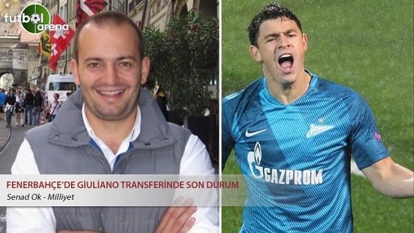 Fenerbahçe'de Giuliano transferinde son durum