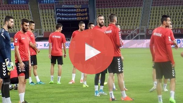 Vardar, Fenerbahçe maçına hazır