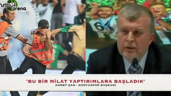 """Ahmet Şan: """"Bu bir milat yaptırımlara başladık"""""""