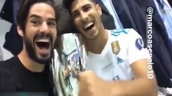 Isco ve Asensio zafer sarhoşu!