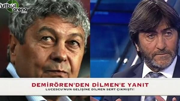 Yıldırım Demirören'den Rıdvan Dilmen'e yanıt!