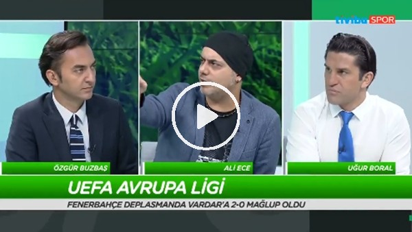 Ali Ece ve Uğur Boral'ın Vardar-Fenerbahçe maçı sonrası yorumları