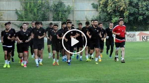 Gaziantepspor, Manisaspor maçı hazırlıklarına başladı
