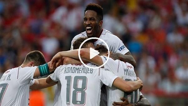 Spartak Moskova 3-4 Lokomotiv Moskova (Maç Özeti ve golleri)