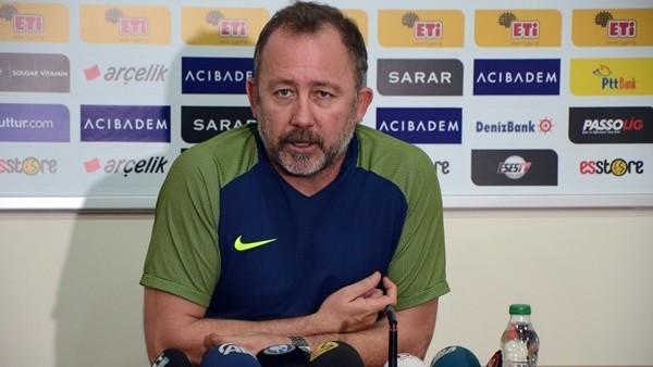 Sergen Yalçın, Eskişehirspor'un oyunundan memnun değil