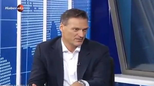Alpay Özalan, Samaras'a attığı mesajı açıkladı