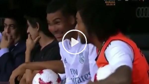 Marcelo, Ronaldo'nun golüne böyle tepki verdi