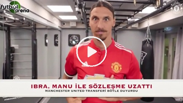 İbrahimovic, Manu ile sözleşme uzattı