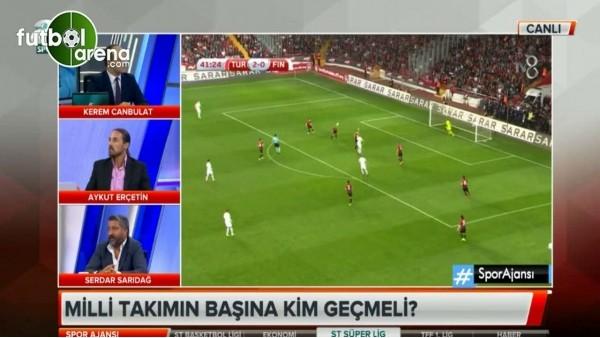 Aykut Erçetin: ''Kimse Milli Takım'ın maçlarını izlemiyor''