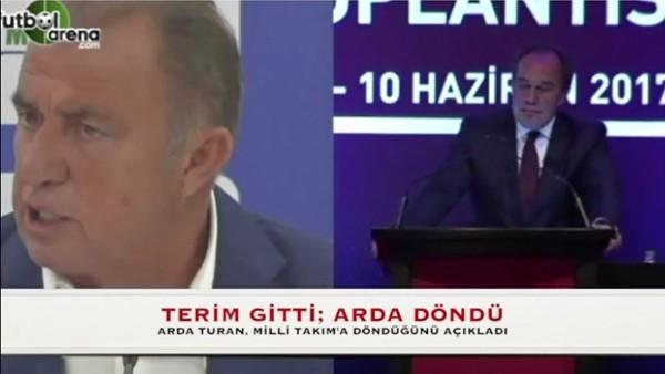 Fatih Terim gitti, Arda Turan döndü!