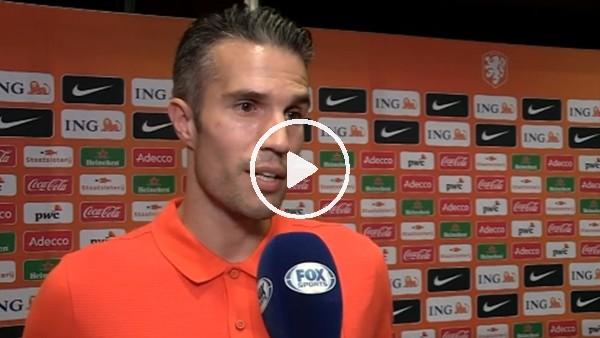 Robin van Persie'den transfer açıklaması!