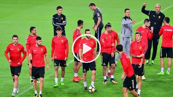 Vardar, Fenerbahçe maçı hazırlıklarını tamamladı
