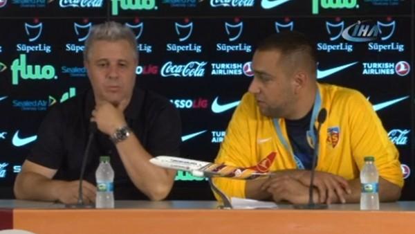 """Marias Sumudica: """"Bizden daha güçlü bir takımla oynadık"""""""