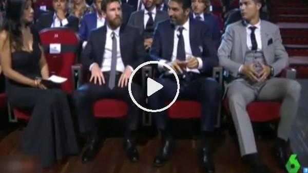 Messi'nin canı sıkıldı!