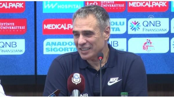 """Ersun Yanal: """"Trabzonspor elinde bulundurduğu oyuncularla onur duymalı"""""""