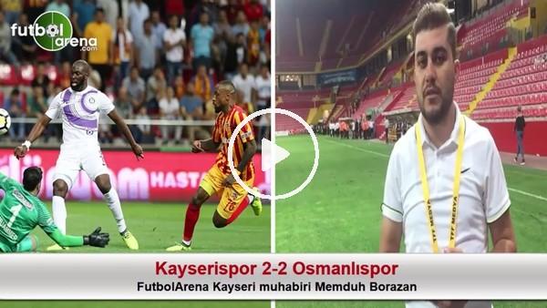 """""""Kayserispor sahasında önemli bir puan aldı"""""""