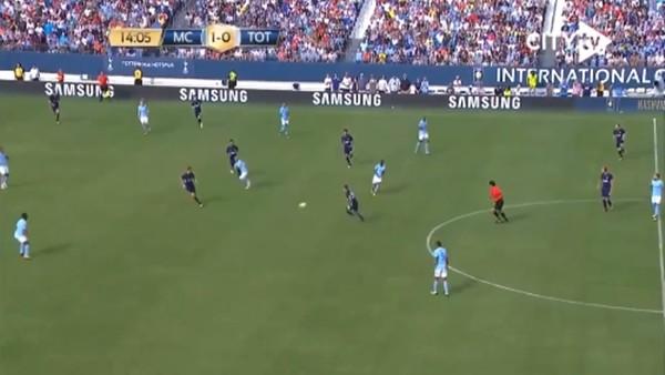 Manchester City antrenmanda çalıştı, maçta uyguladı!